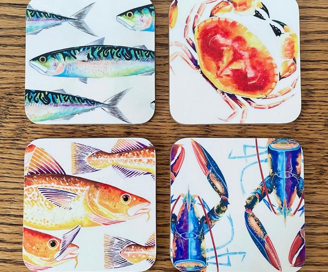 Sealife Coasters