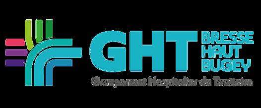 Logo Groupement Hospitalier de Territoire Bresse-Haut-Bugey