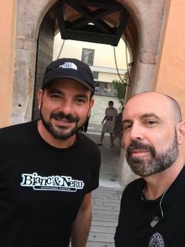 Avec mon ami Gregory Gambarelli