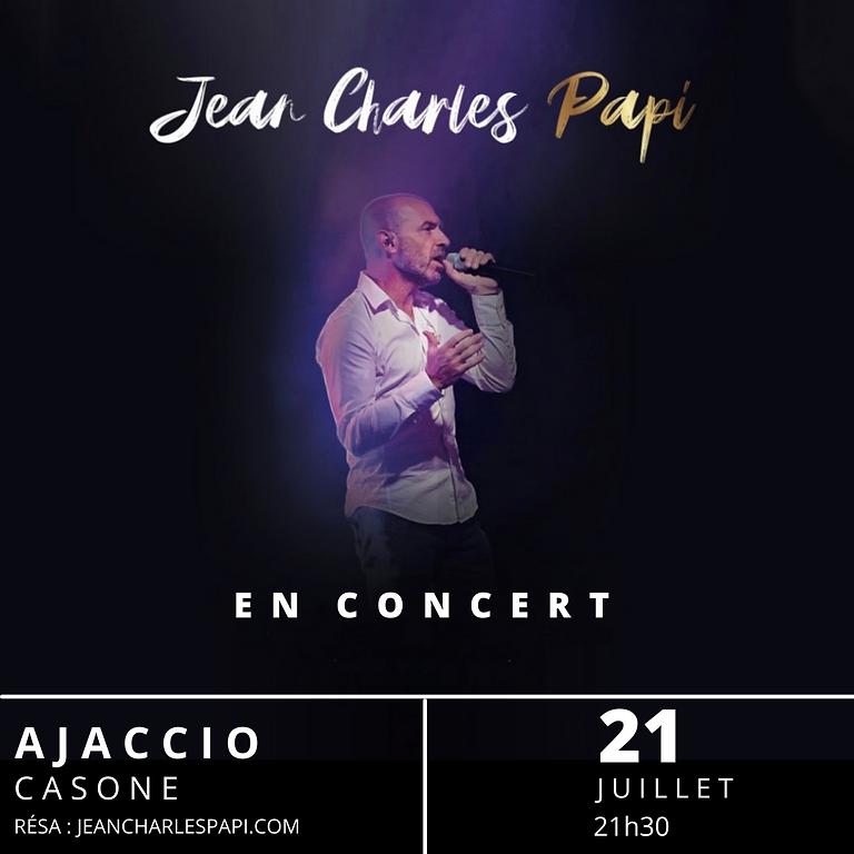 Jean-Charles Papi - Concert - Ajaccio