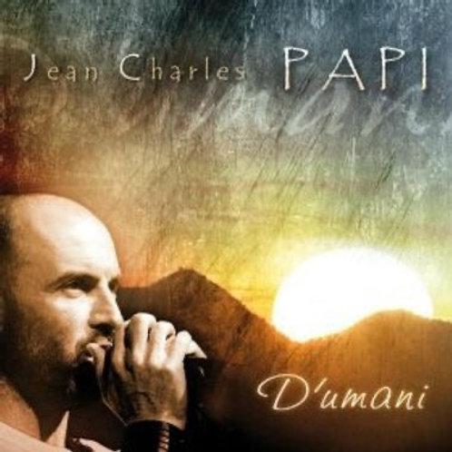 Réédition album D'UMANI - Jean-Charles Papi