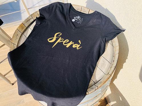 """Tee-shirt """"Sperà"""" modèle femme"""
