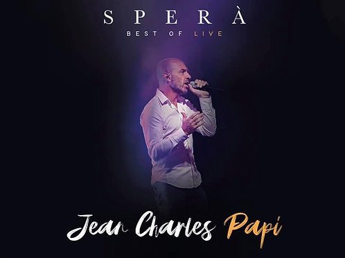 Nouvel album live SPERÀ