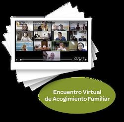 Encuentro virtual de acogimineto familia