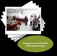 Clausura cursos CECAPDIF 2019 segunda et