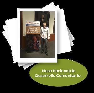 Mesa Nacional de Desarrollo Comunitario