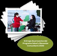 Entrega de proyectos del programa salud
