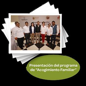 Presentacion del programa de _Acogiiento
