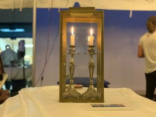 Jews Celebrate a COVID-Safe Shabbat in the Sukkah