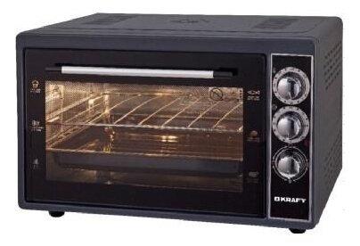 Мини печь kraft kf-mo 3800 bl