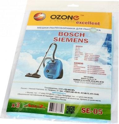 Мешок-пылесборник OZONE excellent SE-05