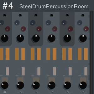Modular Chaos Engine #4 - a steel drum machine for Kontakt VST