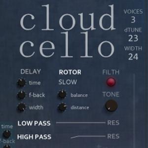 Cloud Cello for Kontakt VST by Sound Dust
