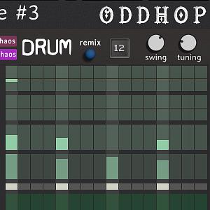 Modular Chaos Engine #3 - a odd drum machine for Kontakt VST