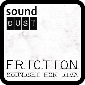 Friction for U-He DIVA by Sound Dust