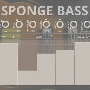 Sponge Bass - a sample library for Kontakt VST