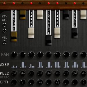 Expanded Hammond Organ sample library for Kontakt VST