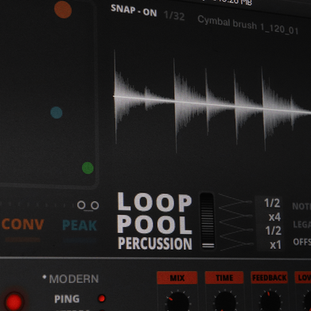 LOOP POOL - Percussion