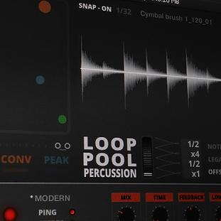 LOOP POOL - Percussion