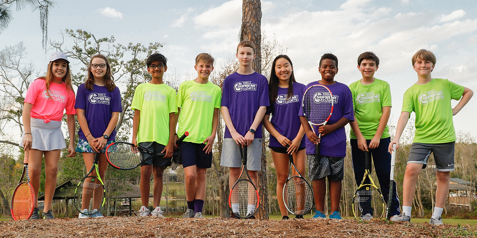 Supreme Courts Youth Tennis Team 2021 (1)