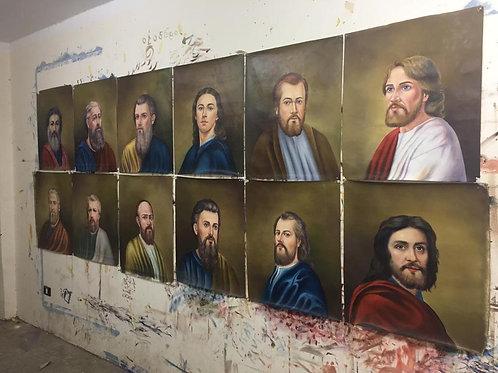 St. Verena Church 12 Apostles Icons