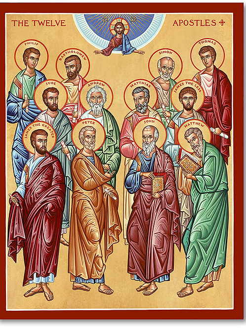 Seasonal Icons - The Apostles
