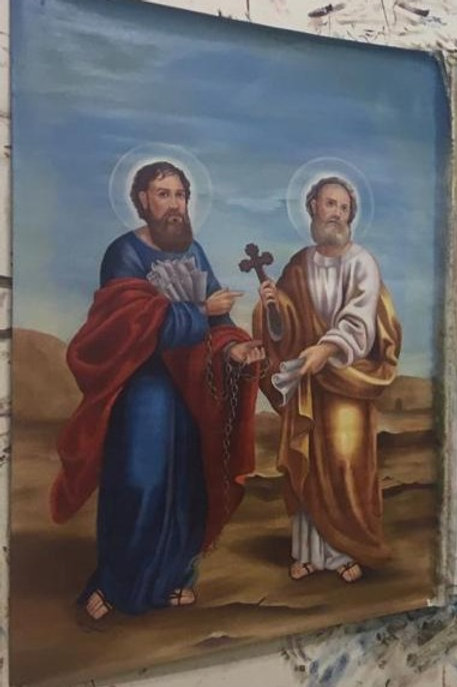 St. Verena Church St. Peter and St. Paul Icon