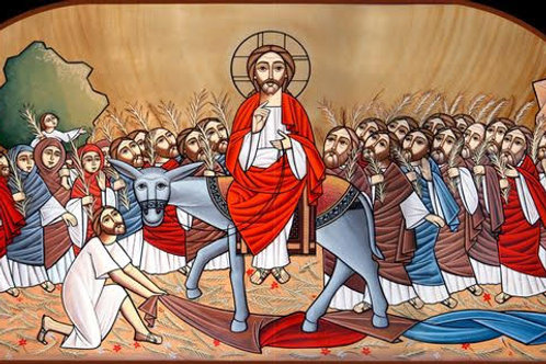 Seasonal Icons - Palm Sunday