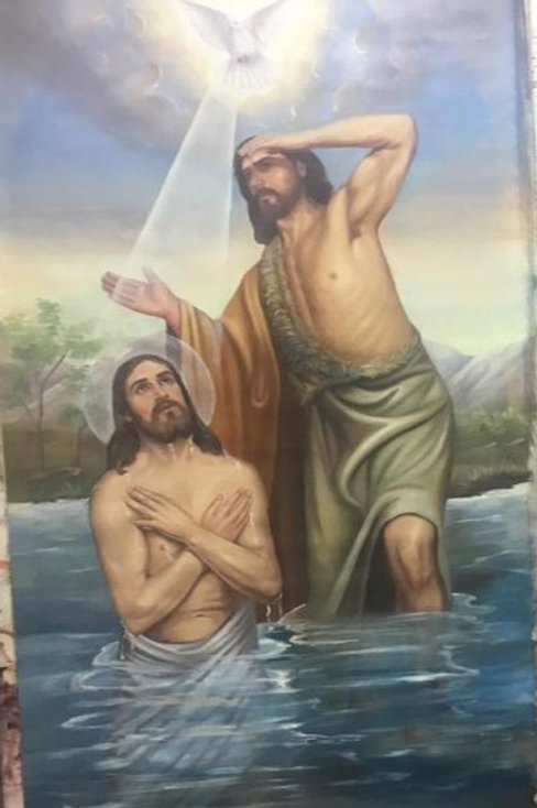 Seasonal Icons - Theophany