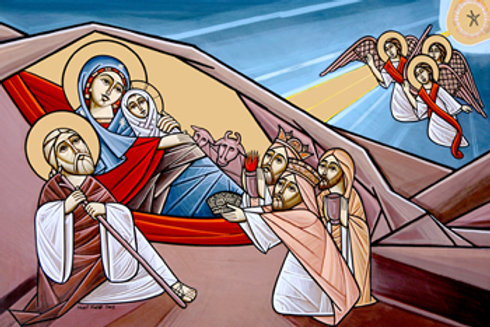 Seasonal Icons - Nativity
