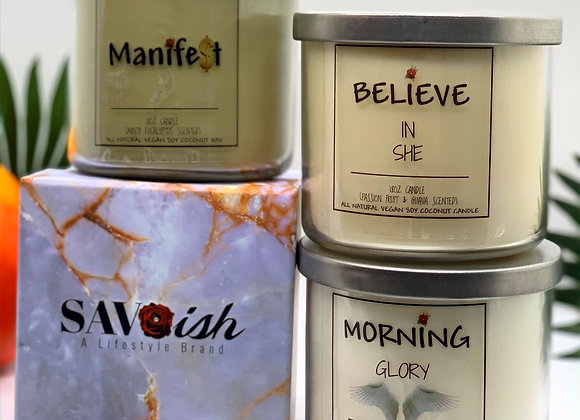 Affirmation Candle Collection