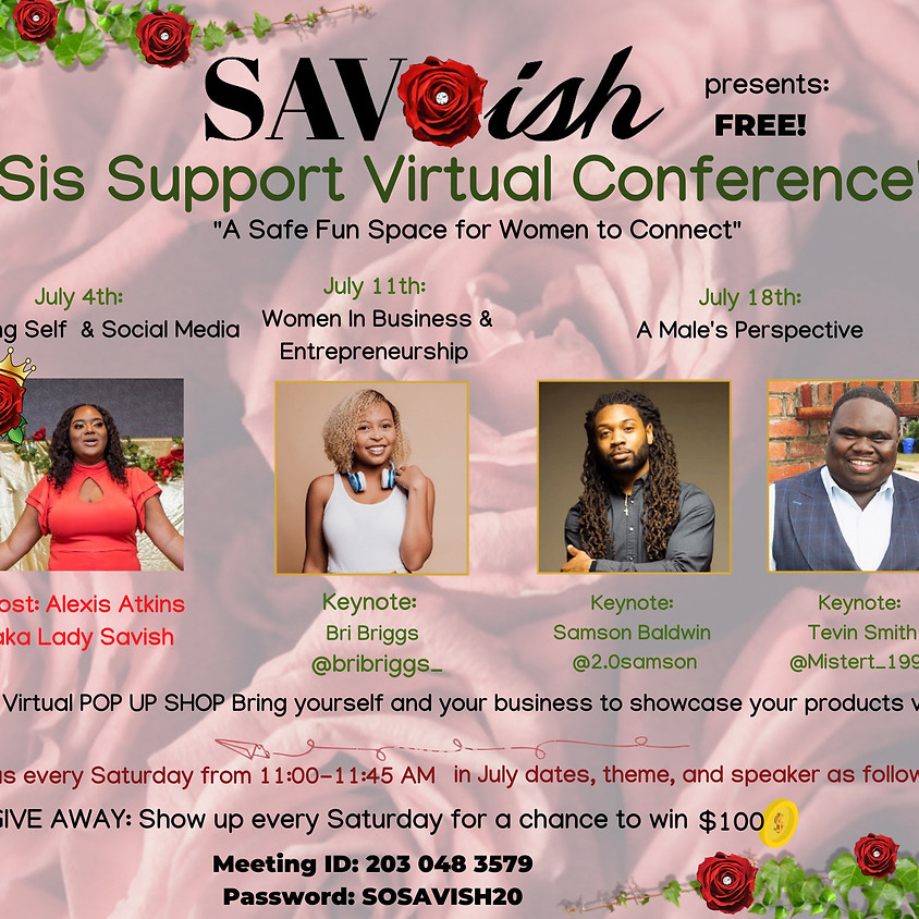 SIS SUPPORT - Virtual Conference