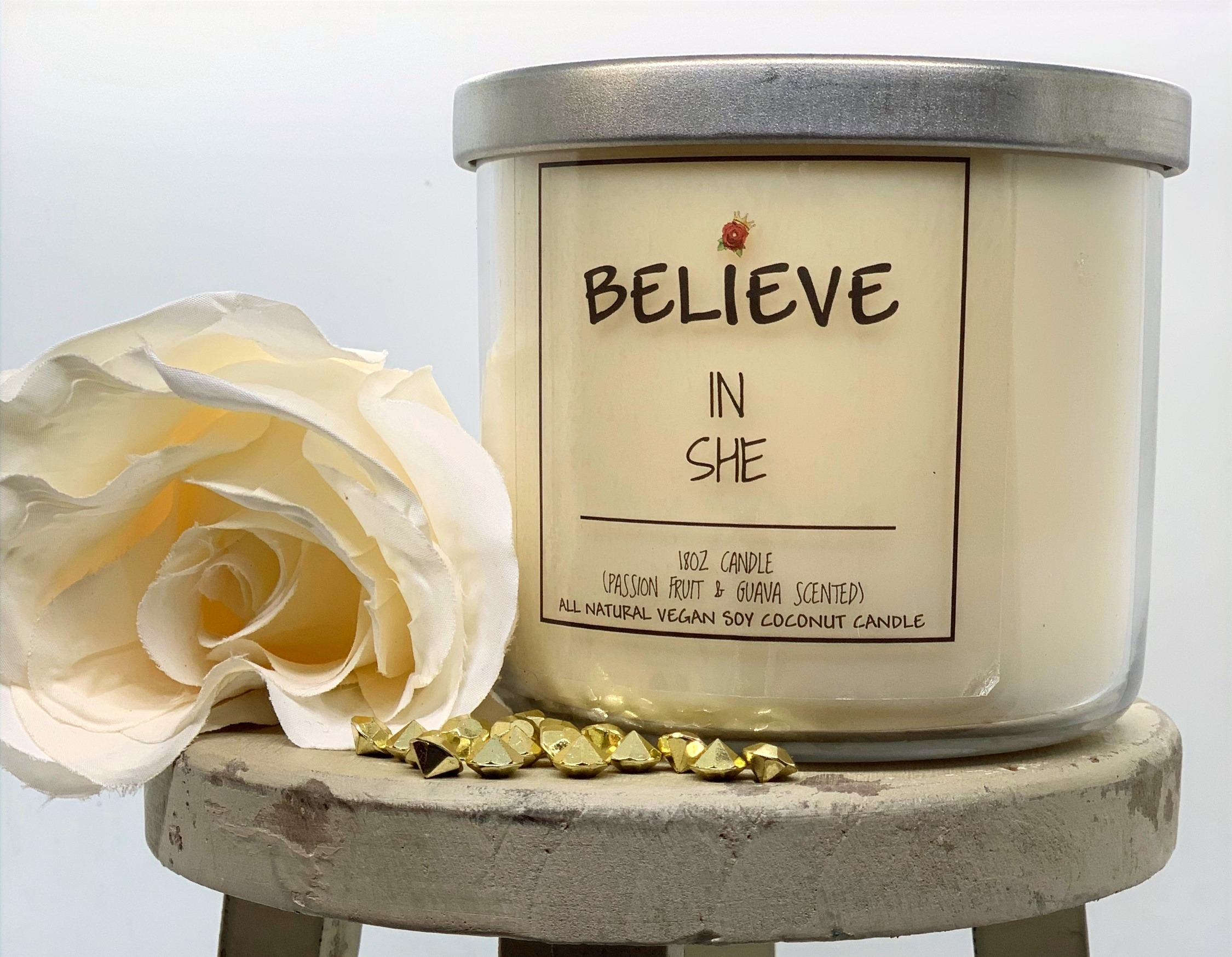 Believe in SHE candle (Guava Passion)