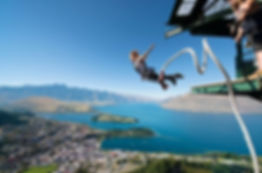 bungy jumping  queenstown