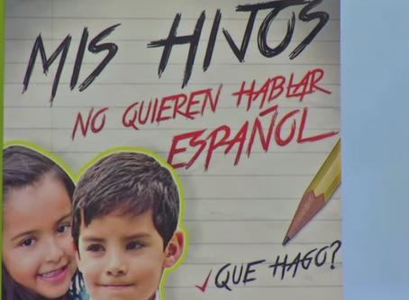 Mis Hijos No Quieren Hablar Español - Telemundo