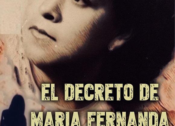 El decreto de María Fernanda