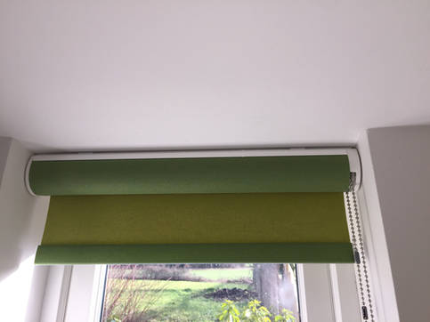 Stylish Roller Blind with Hidden Roller