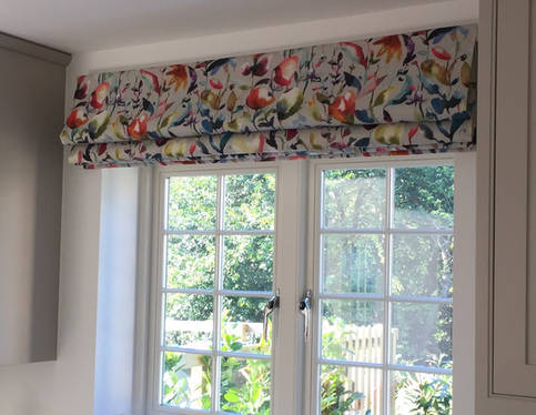 Voyage Fabric Kitchen Roman Blinds