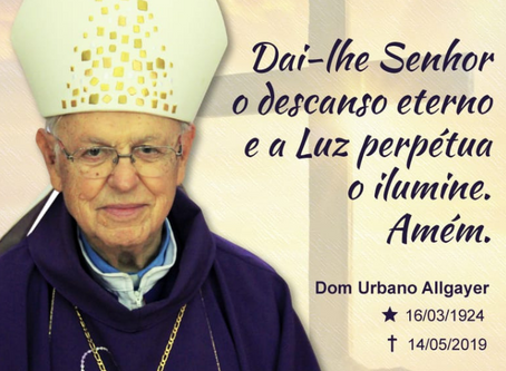 Comunicado de falecimento: dom Urbano Allgayer, bispo emérito de Passo Fundo