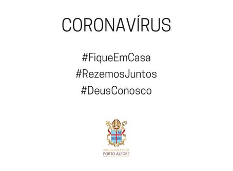 Coronavírus: Arquidiocese decreta fechamento das igrejas e celebrações pascais sem fiéis