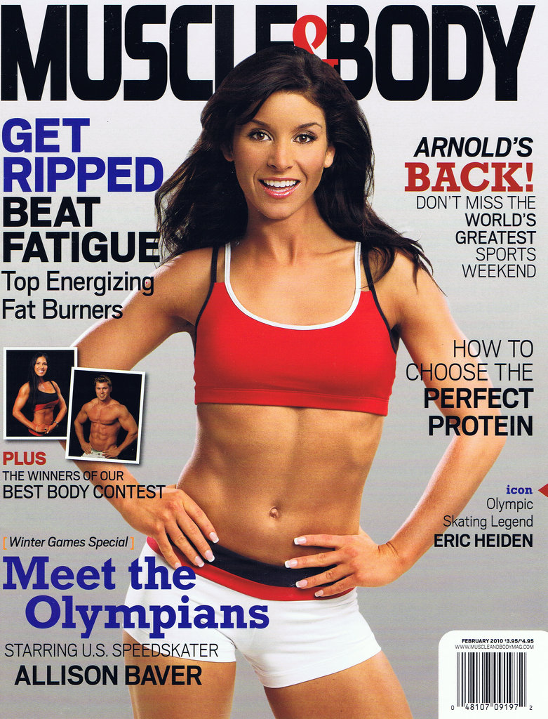 Muscle&Body Olympic Cover