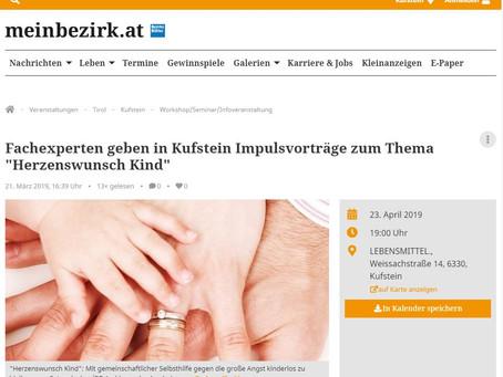 Nachlese auf www.meinbezirk.at
