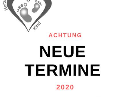 Termine für das Jahr 2020