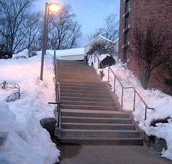 shoveling sidewalks & stairs