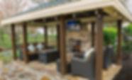 Cabanas, pergolas, gazebos & rooms