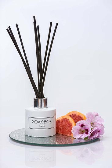 Luxury Reed Diffuser - Geranium, Grapefruit & Patchouli