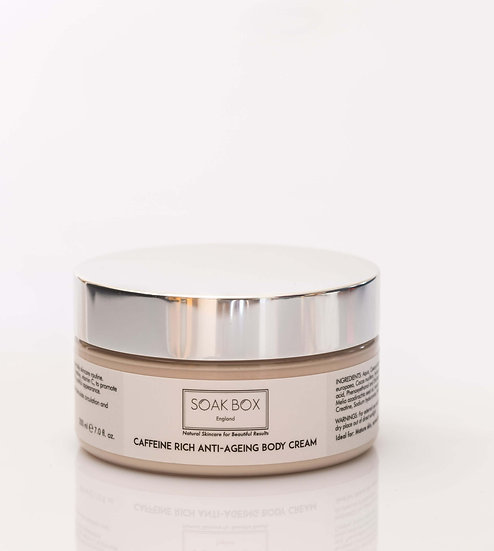 Caffeine Rich Anti-Ageing Body Cream