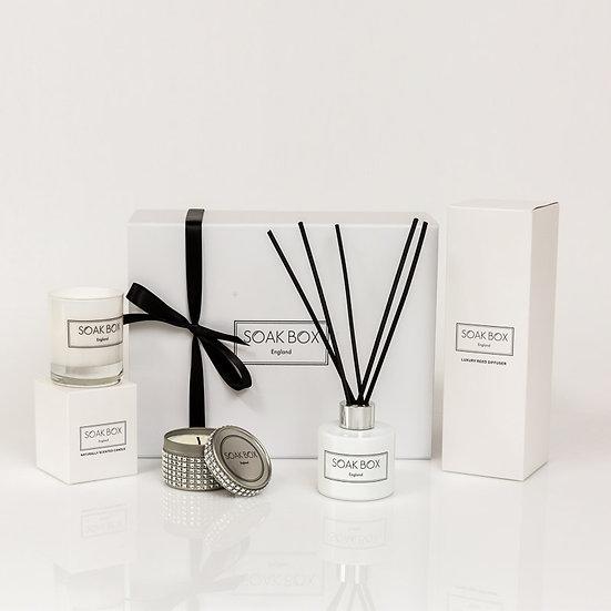 Christmas Exclusive Contemporary Collection with Silver Diamante