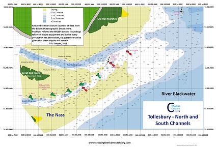Tollesbury Marina Navigation