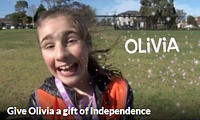 Olivia's fundraisng page
